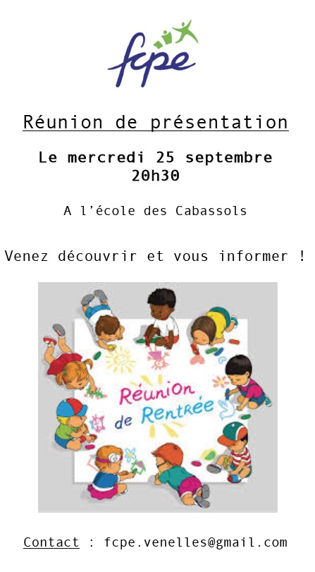 Reunion de rentree 250919
